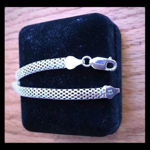 Size 8 Sterling Bracelet